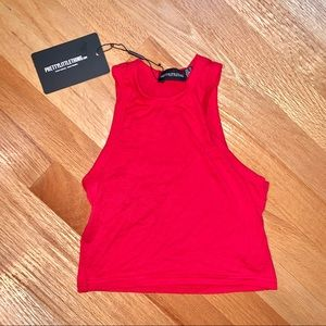PrettyLittleThing High Neck Top